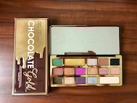 too faced chocolate gold palette  马萨, 85212