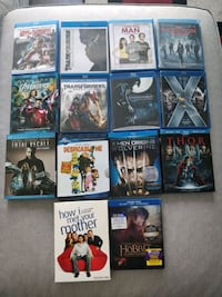 Blu Rays - $10 each (See Details) Toronto, M1T 0A4