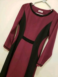 women's pink and black long sleeve dress Vaughan, L4H 2L3