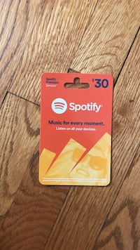 Spotify Premium 30$ gift card Falls Church, 22046