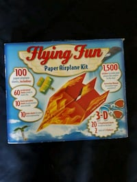 Flying fun paper airplane kit Hanover, N4N