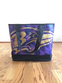 Exclusive Purple and Gold Ravens Tote
