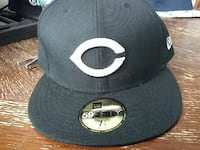 black and white 59Fifity New Era fitted cap