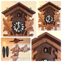 Authentic Cuckoo clock, Handcrafted locally Ottawa, K1C 2P8