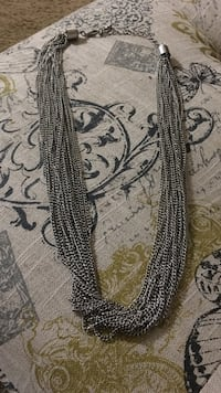 silver multi-strap chain necklace San Luis Obispo, 93401