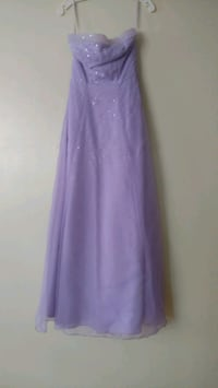 Lavender gown, worn once for formal occasion  Mount Laurel, 08054