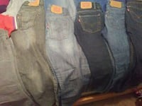 two blue and gray denim bottoms Midland, 79701