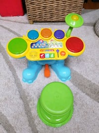 New Vtech Learning Drumm Set French Version  Barrie, L4N 9S2