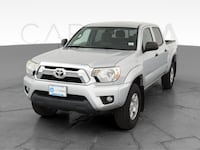 2013 Toyota Tacoma Double Cab pickup Pickup 4D 5 ft Silver <br