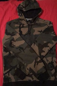 Camouflage Nike Pull Over Hoodie