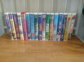 17 Vhs Child movies