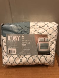 $12 Brand new twin duvet cover and sham blue Louisville, 40223