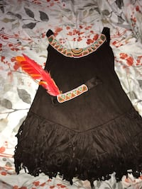 Native American halloween dress with headband M women El Paso, 79925