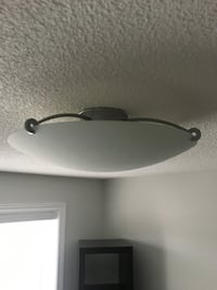 Frosted Glass - Flush Mount Dome Style Light Fixture MISSISSAUGA
