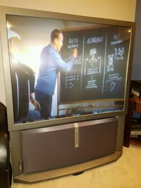 Sony Color 53in Rear Video TV