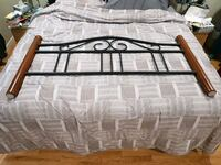 Queen sized headboard and footboard with hardware Coquitlam, V3J 7H9