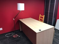 IKEA Desk with Chair and lamp. Calgary, T2A 2L9