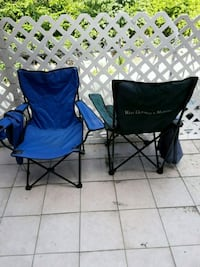 GREEN AND BLUE BEACH FOLDING CHAIRS  Queens, 11372