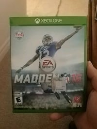 Madden NFL 16 Xbox One game  541 km
