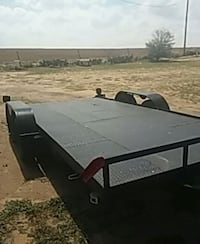 black and brown utility trailer Lubbock, 79415