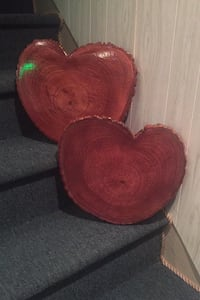 16inCHERRY Wood Heart Alburtis, 18011