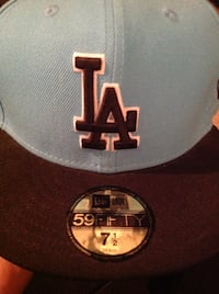 LA Dodgers Hat - New Era Fitted 7 1/2 Hat MLB Citrus Heights, 95621
