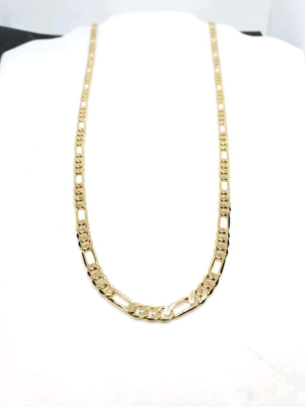 14k Gold Filled Figaro Link Chain a9a20ab6-59f9-4708-a44e-af0075790f90
