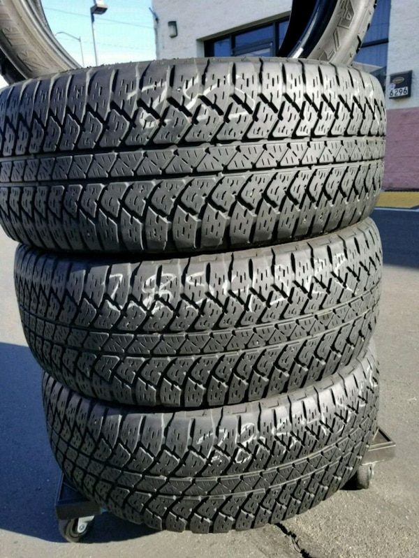 Used 4 Matching 285 45r22 Bridgestone Dueler A T For In Citrus Heights Letgo
