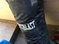 black and white Everlast heavy bag Los Gatos, 95032