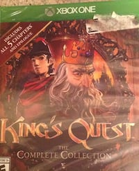 Xbox one kings quest game