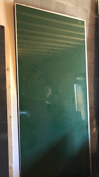 white and green wooden frame Toronto, M4M 2P8