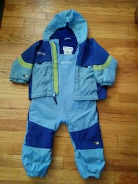 toddler's blue and teal Columbia snow suit size 3T Ypsilanti, 48197