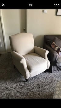 two white fabric sofa chairs Moreno Valley, 92557