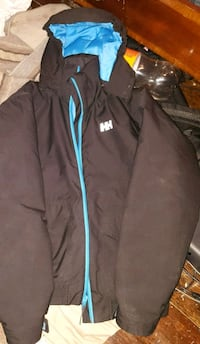 black and blue Adidas zip-up jacket Winnipeg, R3E 2C9