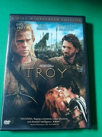 Troy 2 disc DVDs Movie with Bonus Materials DVD! Chicago
