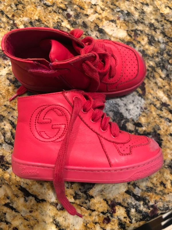 b0c14b1a3c Used Gucci kids shoes size 22 USA size 5/6 AUTHENTIC for sale in Los  Angeles - letgo