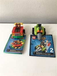 Lego Superheroes Mighty Micros: Robin vs. Bane #76062