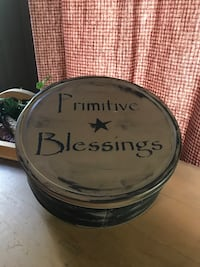 "Rustic ""Primitive Blessings"" Decor Tin Chillicothe, 45601"