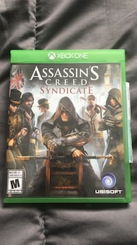 Assassin's Creed Syndicate Xbox One game case