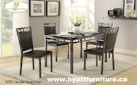 Brand new 5pcs Marble finished Top Dinette Toronto