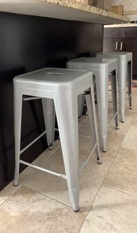 Counter metal stools (3) - NEW!  Manassas, 20111