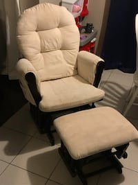 Rocking glider chair with ottoman Ottawa, K2M 0H8