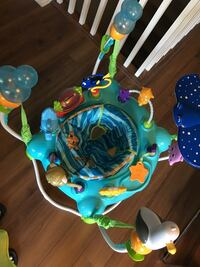 Baby's blue and green activity saucer Newmarket, L3Y 2H3