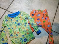 baby's two assorted onesies 1485 mi