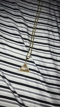 Gold chain with Pendant 14k gold  Portland, 04103