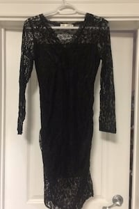 Black lace dress Burnaby, V5G 1N2