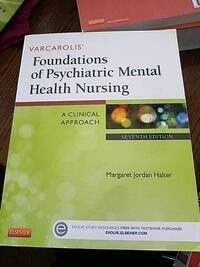 Varcarolis Foundations of Psychiatric Mental Health Nursing book Greentop, 63546