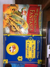 Vendo 6 LIBRI COLLANA GERONIMO STILTON Roma, 00199