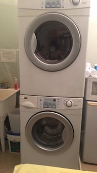 white front-load clothes washer and dryer set Vienna, 22182