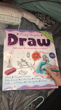 Hardcover learning how to draw book (brand new) Bonaire, 31005